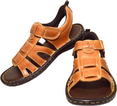 Sizzlers Men Tan Sandals