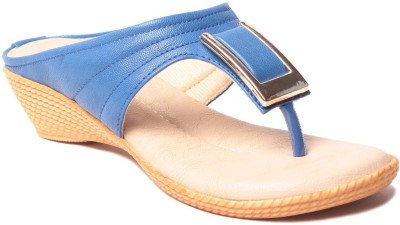 MSC Women Blue Flats