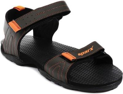 Sparx Boys Olive, Orange Sandals