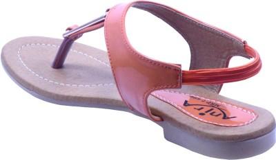 Anira Fashion Women Orange Flats