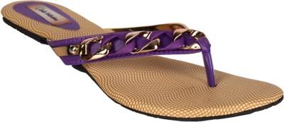 Laila Collections Women Purple Flats