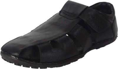 Rockins Men, Boys Black Sandals