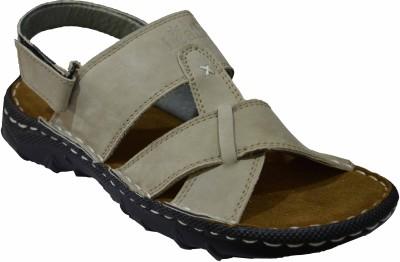feetway Men Beige Sandals