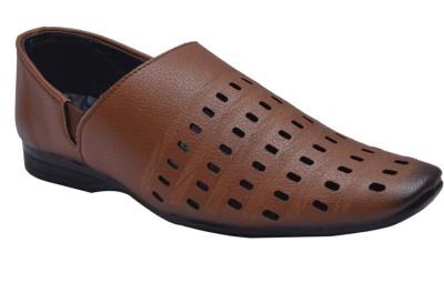 John Karsun Men Tan Sandals