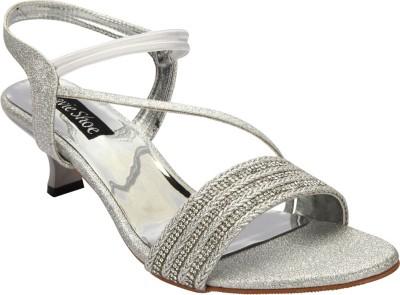 Savie Shoes Women White Heels