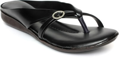 Ala Mode Women Black Flats
