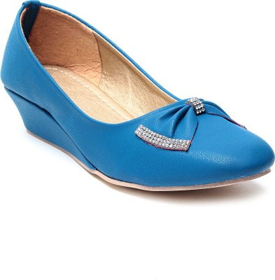 Nell Women Blue Wedges