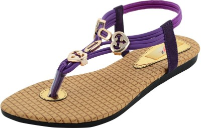 mgz Girls Purple Sandals