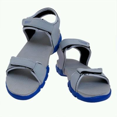 Ziesha Men Grey, Blue Sandals