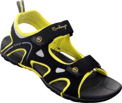 ronbony Men Yellow Sports Sandals