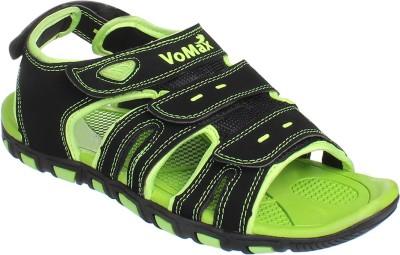 Vomax Men Black, Green Sandals