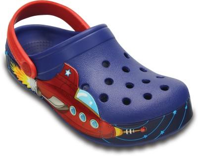Crocs Baby Boys, Baby Girls Blue Sandals