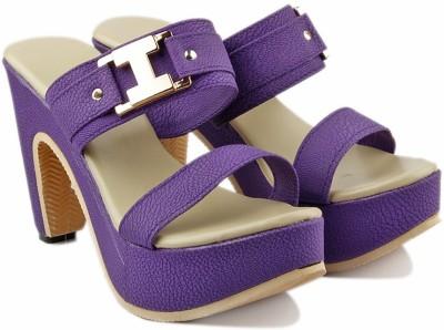 Jency Women Pink Heels
