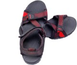 Space Men Black Sandals