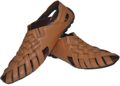 Strive Men Tan Sandals