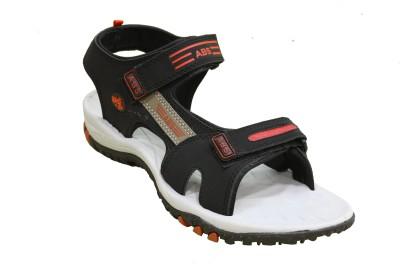 ABS Men Grey, Red Sandals