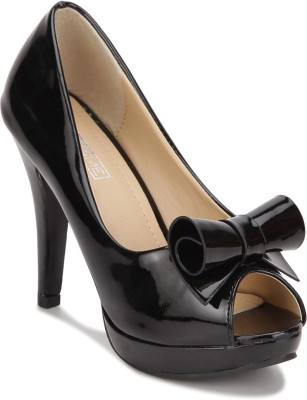 Yepme Women Black Heels