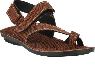 Tiger Wood Men Brown Sandals
