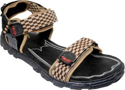 VALENKI Men Brown, Black Sandals