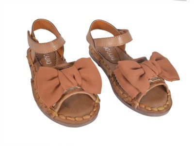 Junior Selection Girls Brown Sports Sandals