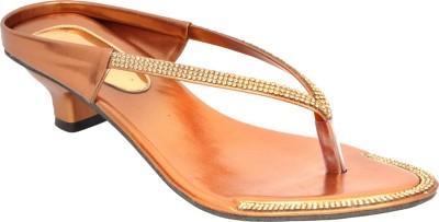 Altek Women Tan Heels