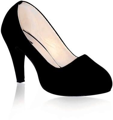 Sam Stefy Women Black Heels