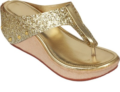 Suyash Girls Gold Heels
