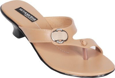 Hitansh India Women Tan Heels