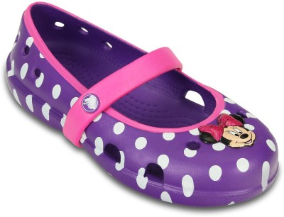 Crocs Baby Girls Purple Sandals