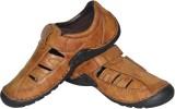 Human Steps Men Tan Sandals