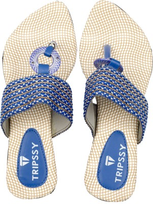 Tripssy Women Blue Heels