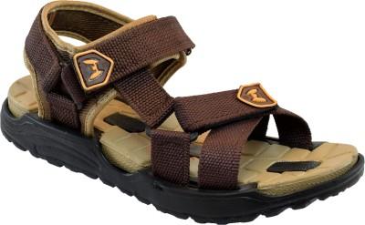 Tasco Men Brown, Camel Sandals