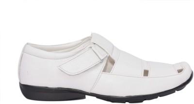 Skoene Men, Boys White Sandals