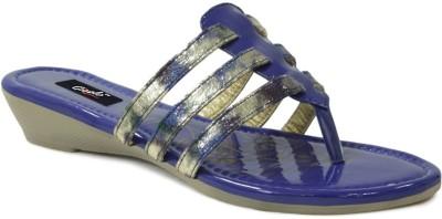 GISOLE Women Blue Wedges