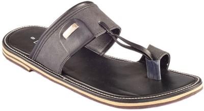 Dolphin Miles Men Black Sandals