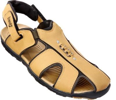 VKC Trendz Men Tan Sandals