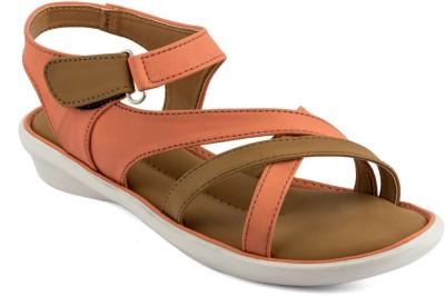 Infiniti Women Orange Flats