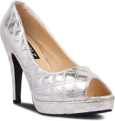 Kielz Women Silver Heels