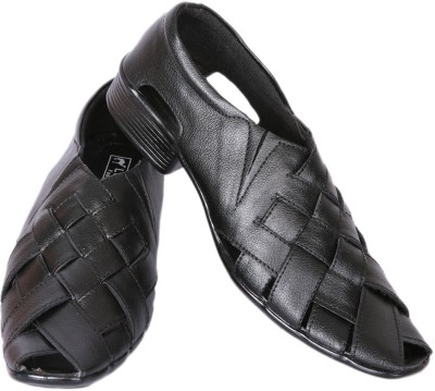 Luca Fashion Men Black Heels