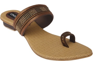 Alesso Women Brown Flats