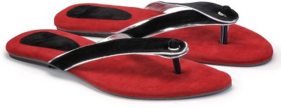 Cenizas Collage Fly Women Red Flats