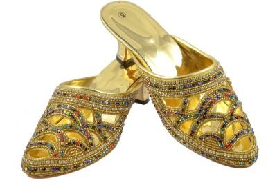 Walk N See Women Yellow Heels