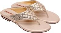 Global Step Women Gold Flats