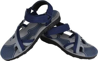 Vivaan Footwear Blue-834 Men Blue Sandals