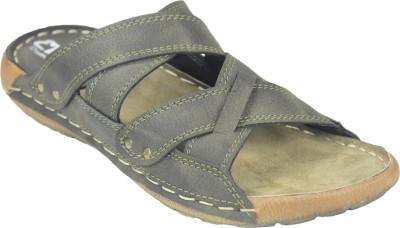 Leatherworld Men Olive Sandals