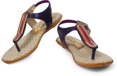 Bellafoz Women Purple Flats