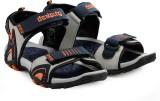 Corpus Men Blue::Orange Sandals