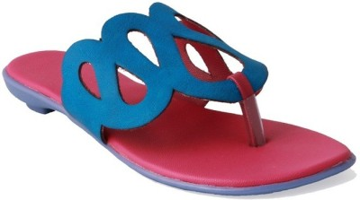 Small Toes Baby Girls Blue Sandals