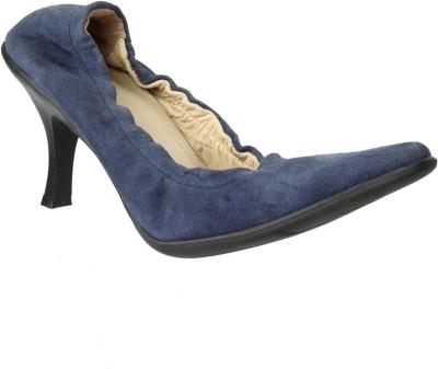 Salt N Pepper Women Blue Heels