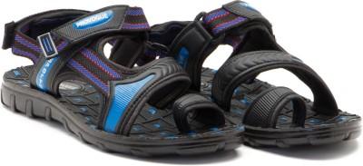 Provogue Men Blue, Black Sandals
